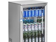 Tủ lạnh mini quầy bar 1 cánh kính OKASU SC-118FS