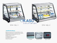 Tủ trưng bày bánh kem mini OKASU RTW-130L-2