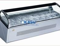 Tủ trưng bày kem ký OKASU F-QV660A-W