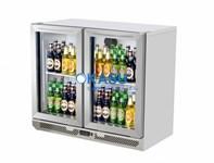 Tủ mát mini quầy bar hai cánh kính OKASU TB9-2G