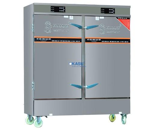Tủ Cơm 24 Khay Điện Điều Khiển Cảm Ứng OKASU VNK24K-DB