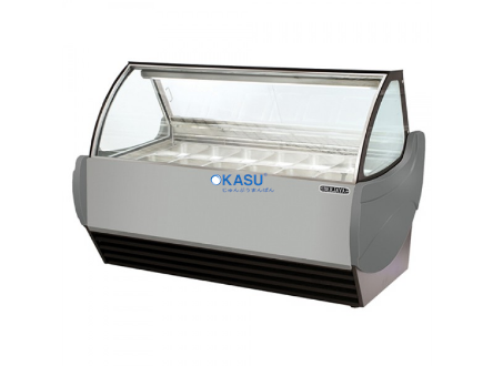 Tủ trưng bày kem Okasu GS12-G