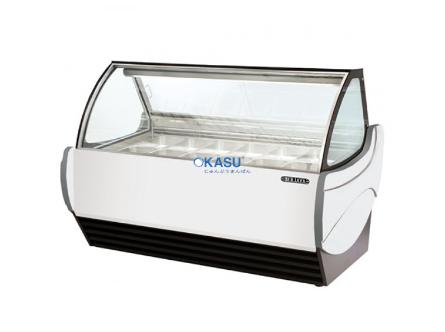 Tủ trưng bày kem Okasu GS12-W