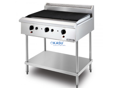Bếp nướng vỉ dùng gas Berjaya CB3BFS-17