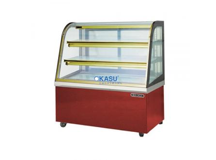 Tủ trưng bày bánh nóng kính cong HDW24GM13-3