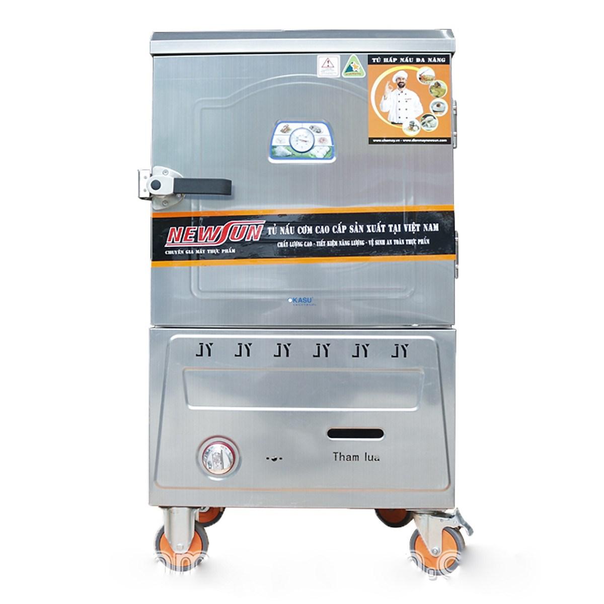 Tủ nấu cơm bằng Gas 6 khay NS-THTQG6K (18kg gạo/lần)
