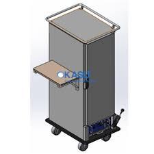 TỦ GIỮ NHIỆT INOX FURNOTEL 10 KHAY FHCSS110