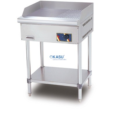 Bếp chiên nửa phẳng nửa nhám dùng điện chân đứng BERJAYA EG350012RFS