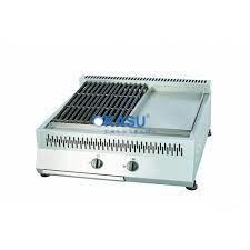 Bếp Nướng Than Đá Kết Hợp Chiên Phẳng MSM CBHP-1000