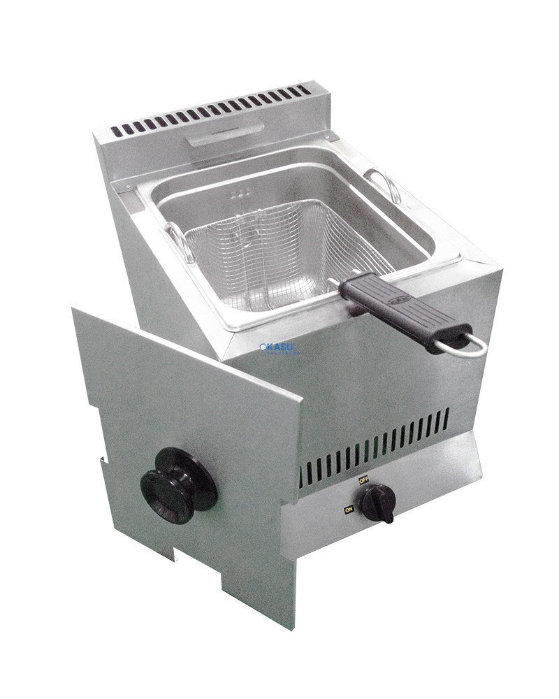 Bếp chiên nhúng đơn dùng Gas MSM DFG-4000