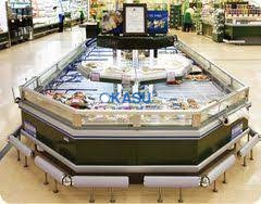 Tủ trưng bày siêu thị Carrier AMH-M25FGFD