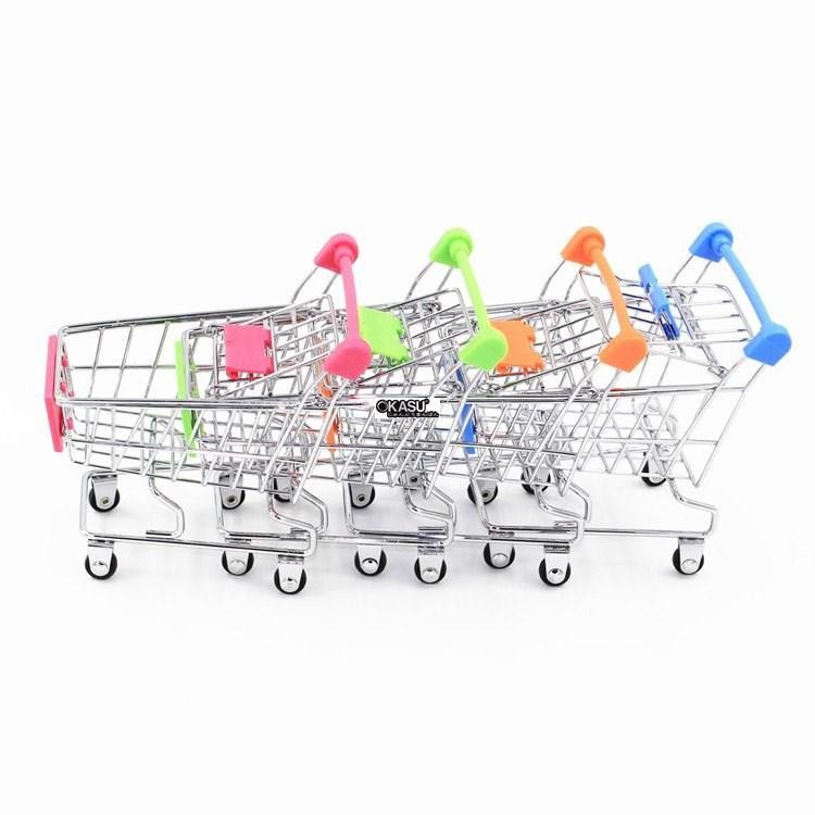 Xe đẩy siêu thị mini OKASU