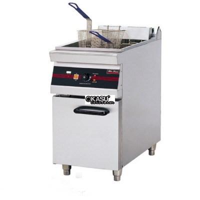 Bếp chiên nhúng 1 hộc 2 giỏ OKASU OKA-1/2WFR3-8