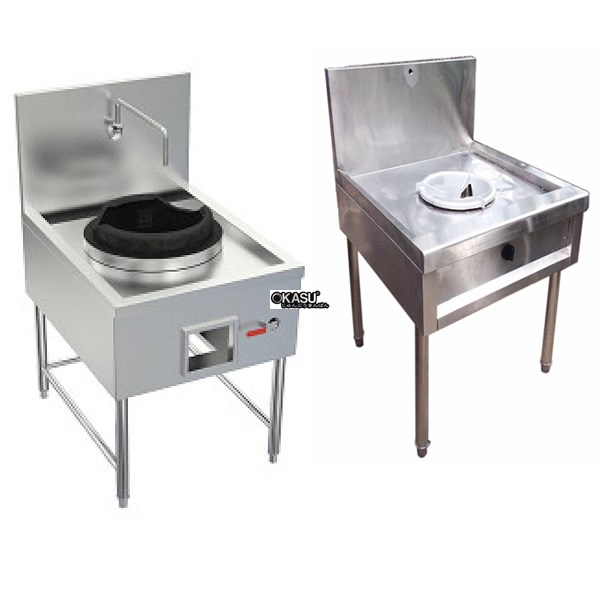 Bếp xào đơn công nghiệp OKASU OKA-800SD