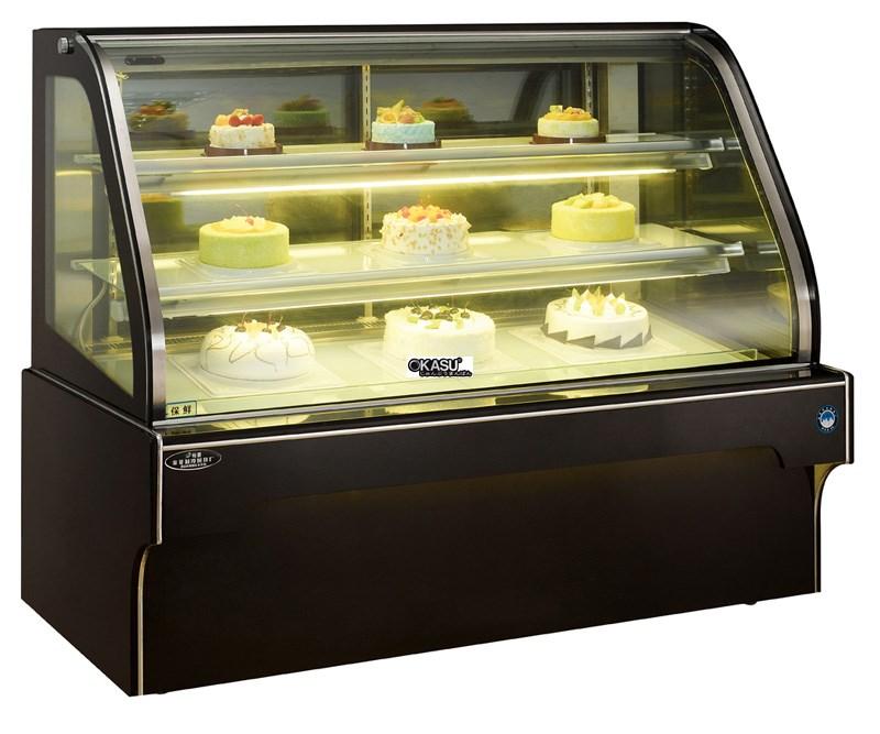 Tủ trưng bày bánh kem OKASU OKS-G328FS (Dòng tủ bánh hồ quang đôi)