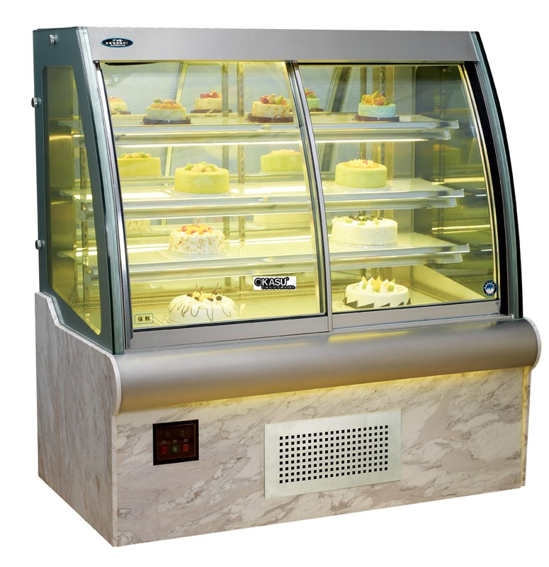 Tủ trưng bày bánh kem OKASU OKS-G760FO