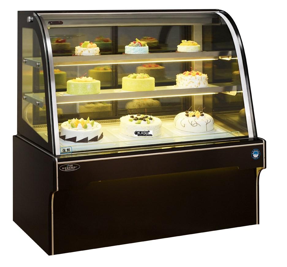 Tủ trưng bày bánh kem OKASU OKS-G580FD