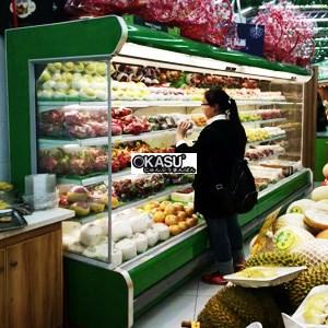 Tủ trưng bày và bảo quan hoa quả OKASU OKS-BX5S