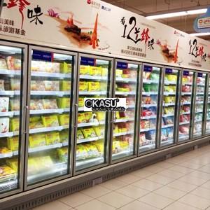 Tủ mát trưng bày siêu thị OKASU FMC-F2D-A