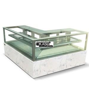 Tủ trưng bày bánh chứ L vuông góc OKASU RDG-700FL