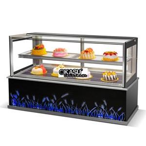 Tủ trưng bày bánh OKASU BX-1800ZHF2-E