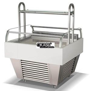 Tủ trưng bày và bảo quản bánh ngọt OKASU RDG-1000CF-1