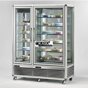 Tủ trưng bày và bảo quản bánh 2 cửa đứng OKASU BX-1200LC