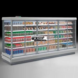 Tủ trưng bày siêu thị OKASU FMC-F4D-A