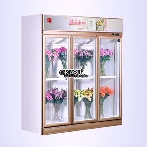 Tủ trưng bày và bảo quản hoa tuwoi OKASU-SG18ZA-3