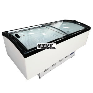 Tủ đảo cửa đôi mặt phẳng OKASU HD-1800A
