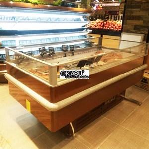 Tủ đông / tủ đông lạnh làm mát bằng không khí OKASU KC-CKG