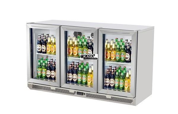 Tủ mát mini quầy bar OKASU TB13-3G