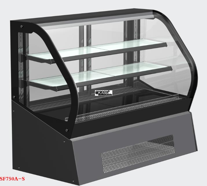 Tủ trưng bánh kem để bàn OKASU SF730A-S