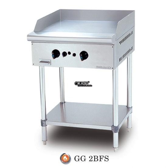 Bếp chiên bề mặt dùng gas chân đứng Berjaya GG 2BFS