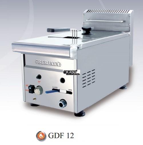 Bếp chiên nhúng gar đơn Berjaya GDF12