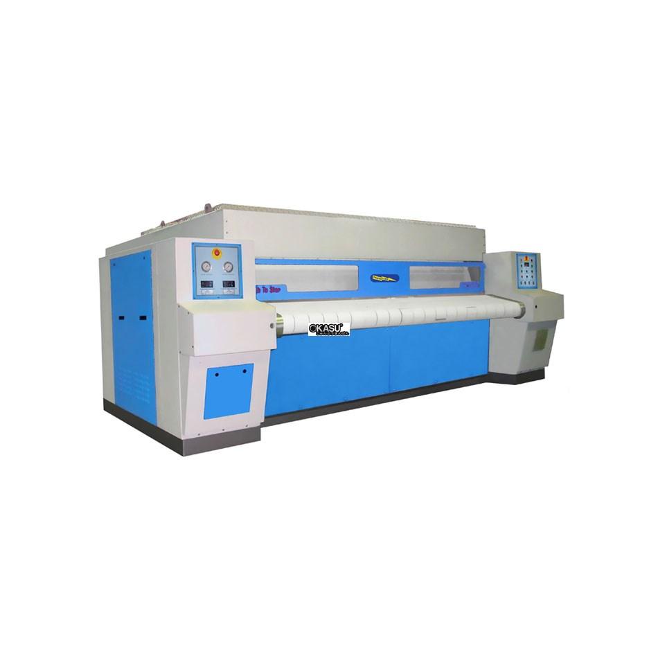 Máy là công nghiệp lô khổ 3m 1 con lăn Powerline PFC-32X120-1