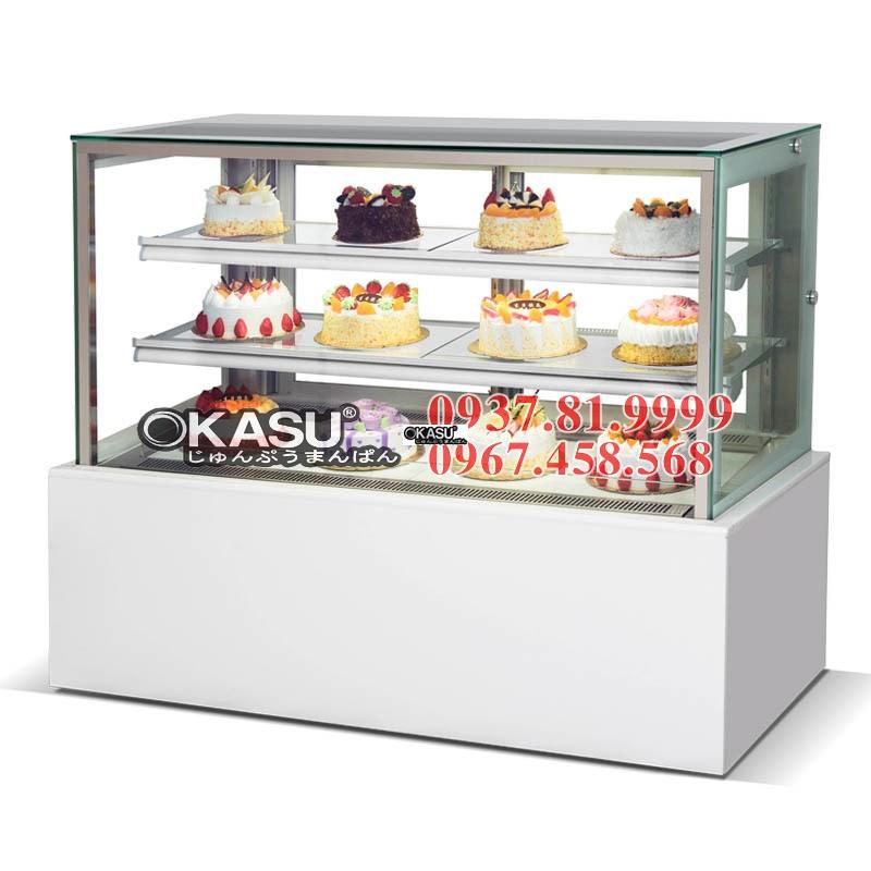 Tủ trưng bày bánh ngọt OKASU BX -1200ZHF3