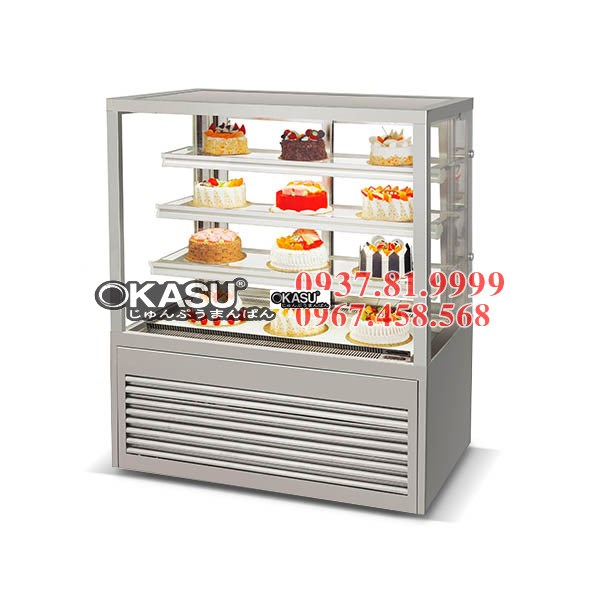 Tủ trưng bày bánh ngọt OKASU RDG-1200ZHF4-G
