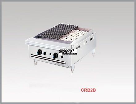 Bếp nướng than đá nhân tạo dùng gas Berjaya CRB 2B