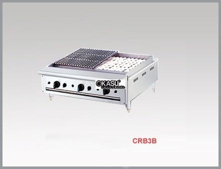 Bếp nướng than đá nhân tạo dùng gas Berjaya CRB 3B