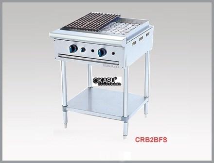 Bếp nướng than đá nhân tạo dùng gas Berjaya CRB 2BFS