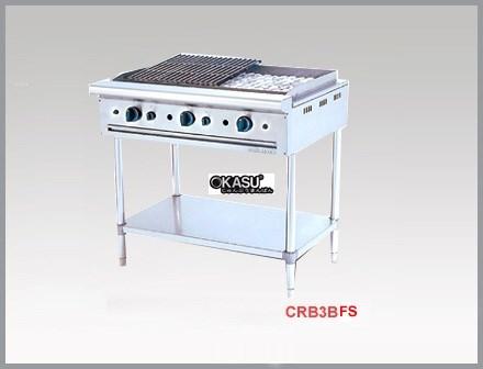 Bếp nướng than đá nhân tạo dùng gas Berjaya CRB 3BFS
