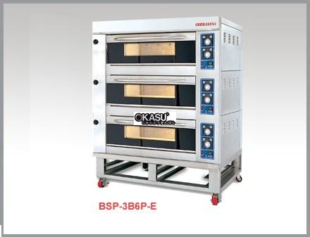 Lò nướng điện 3 tầng Berjaya BSP-3B6P-E (6 khay)