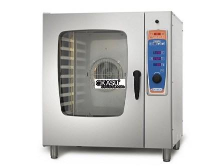 Lò hấp nướng đa năng gas 10 khay Sogeco MDS-R10.21G-S