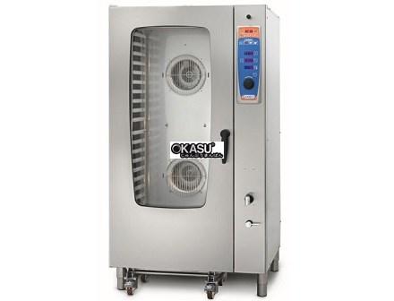 Lò hấp nướng đa năng gas 20 khay Sogeco MDS-R20.11E-S