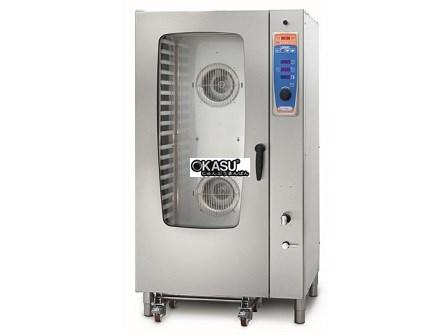 Lò hấp nướng đa năng gas 20 khay Sogeco MDS-R20.11G-S