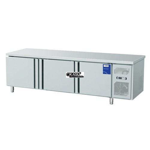 Tủ bàn lạnh 3 cánh inox Fushima FSM-BLCI 1.8