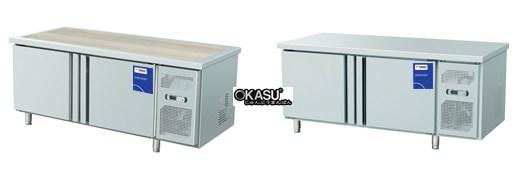 Tủ bàn lạnh 2 cánh inox Fushima FSM-BLCI 1.2