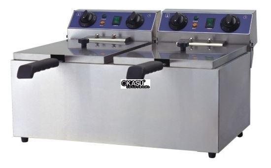 Bếp chiên điện để bàn OKASU WF-102B