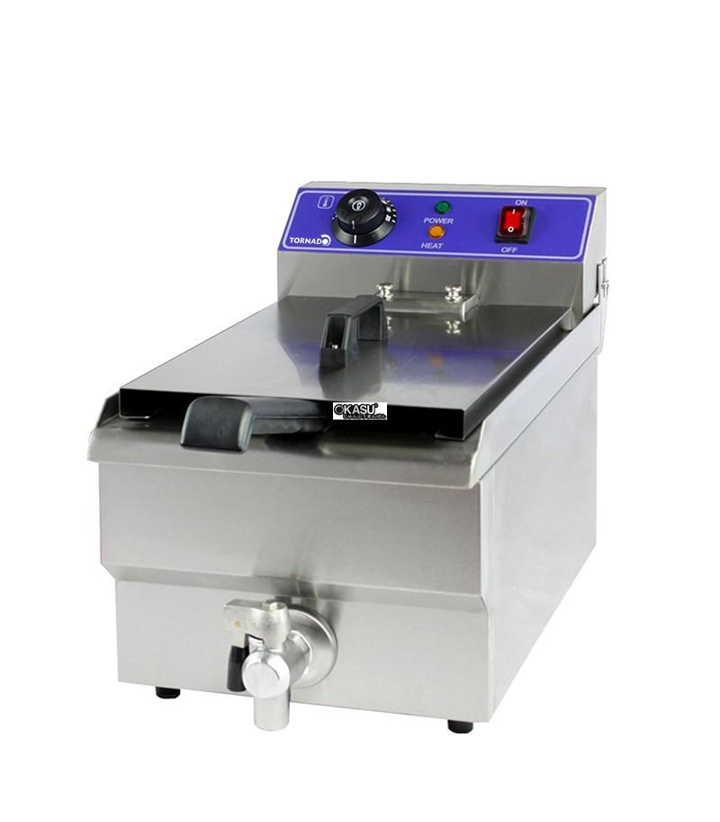 Bếp chiên điện van dầu OKASU WF-171V